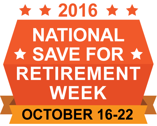 Save for retirement week logo