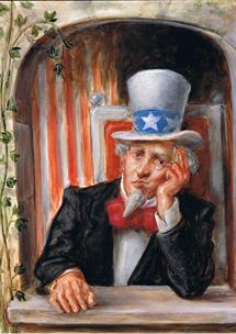 Sad Uncle Sam