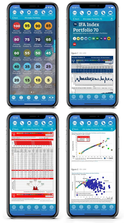 IFA app Portfolios
