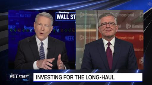 "David Booth Interviewed on Bloomberg's ""Wall Street Week"""