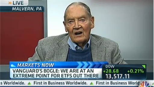 Jack Bogle on CNBC: A $1 Trillion Swing in Investors' Preferences