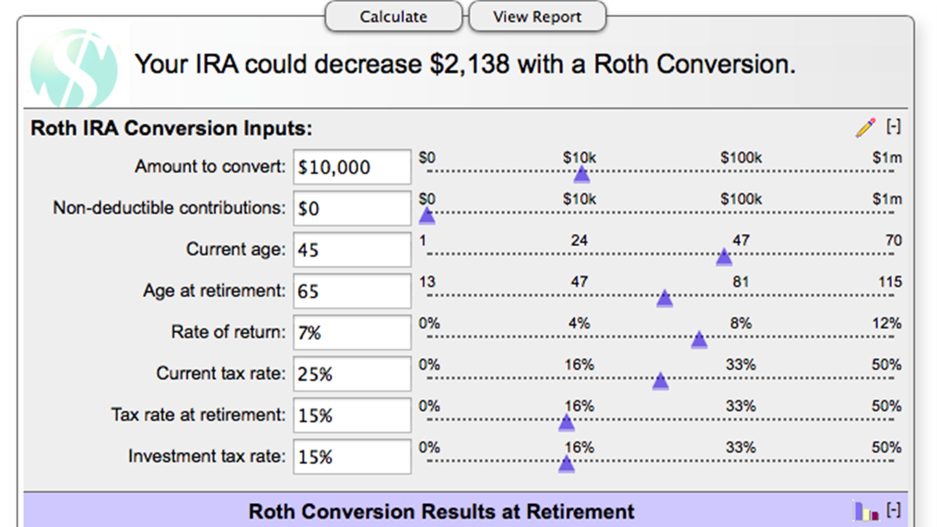 Roth Conversion