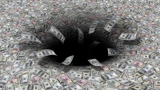 money black hole