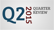 The 2nd Quarter of 2015 in Review