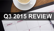The 3rd Quarter of 2015 in Review