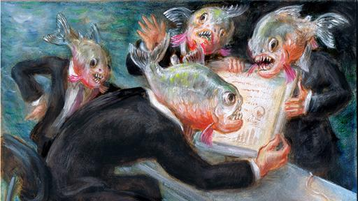 The Google Earnings Debacle: The Piranhas Attack