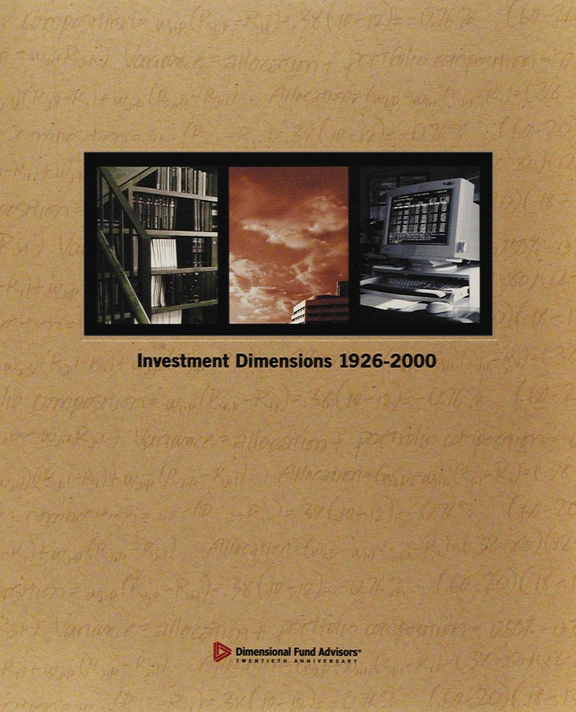 DFA Matrix Book 2000
