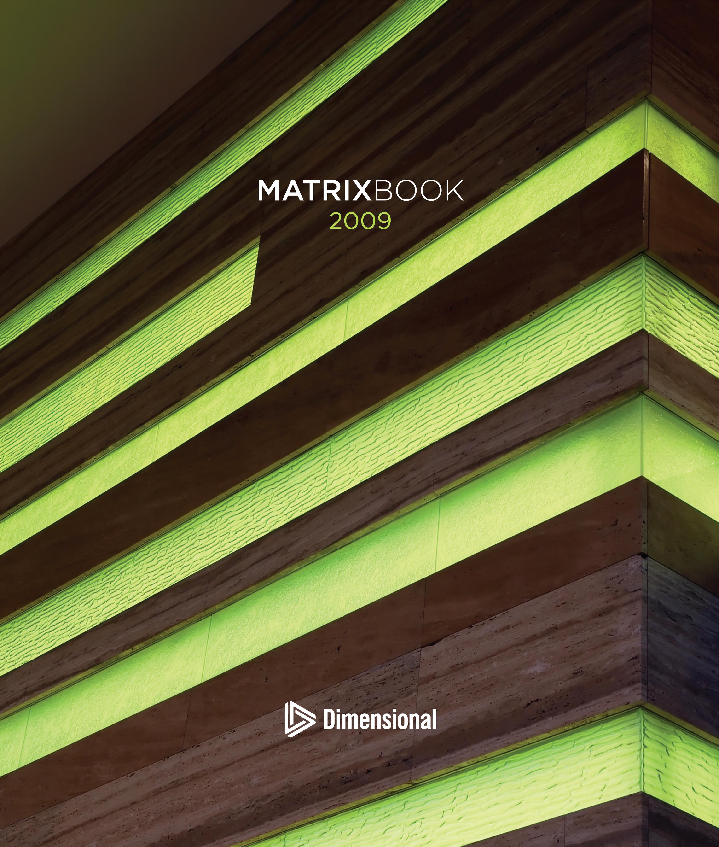 DFA Matrix Book 2009