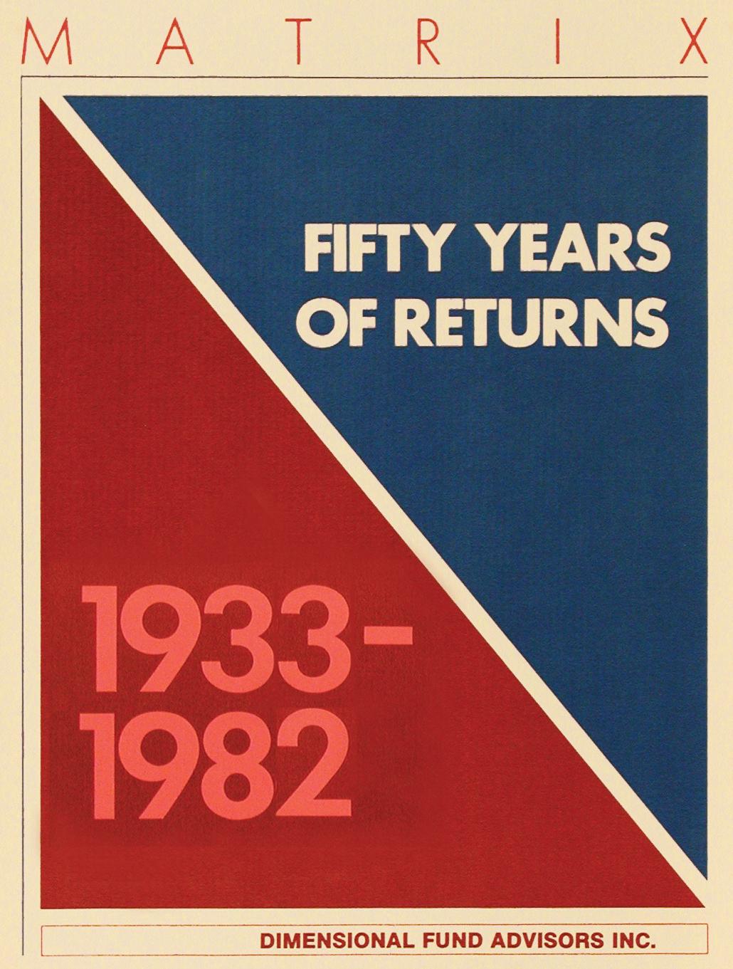 DFA Matrix Book 1982