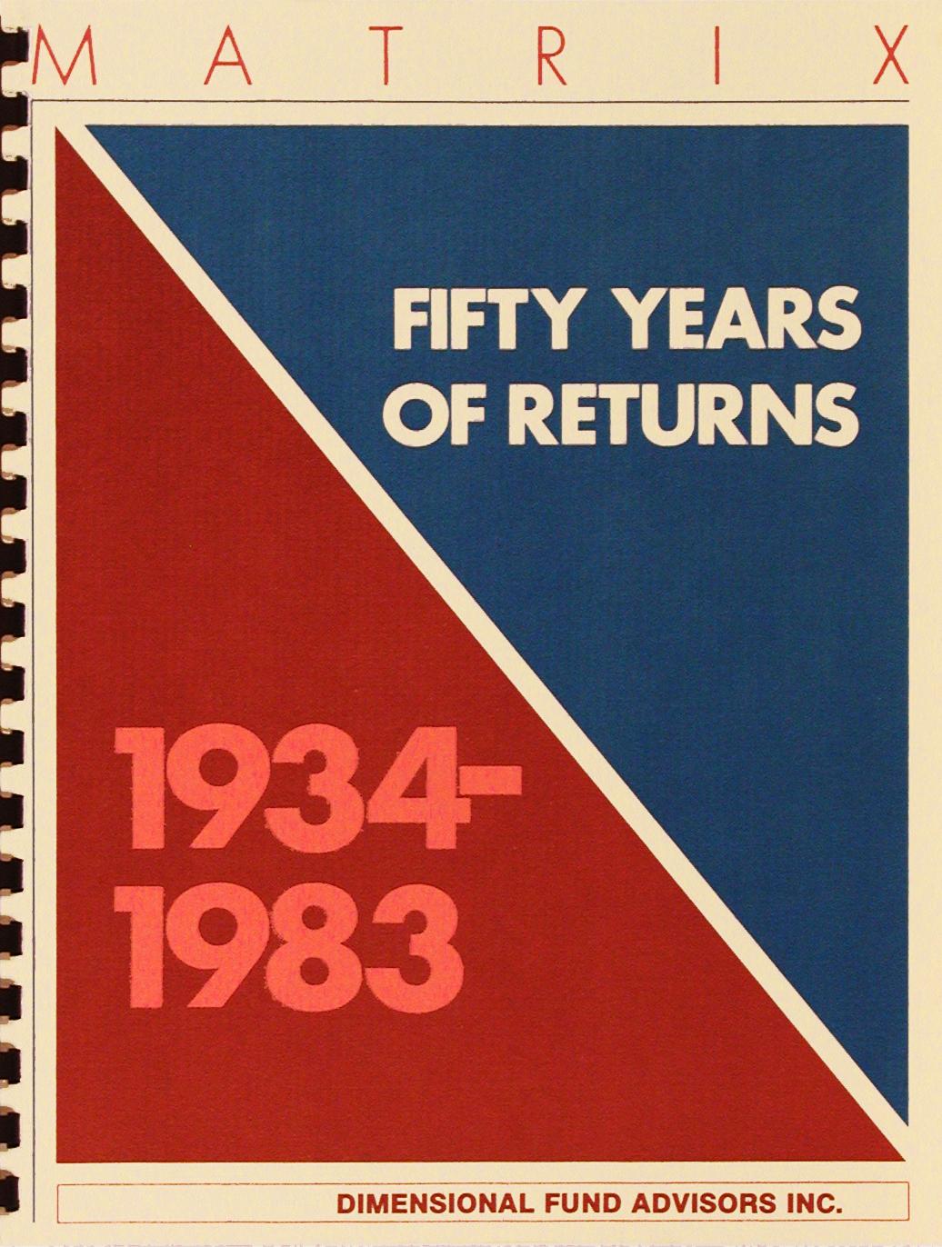 DFA Matrix Book 1983