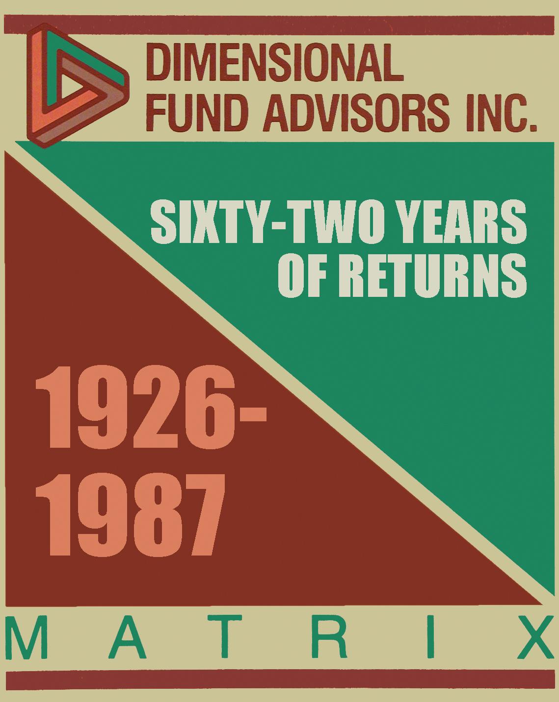 DFA Matrix Book 1987