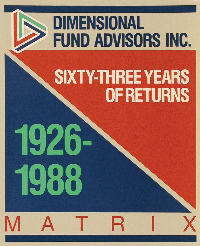 DFA Matrix Book 1988