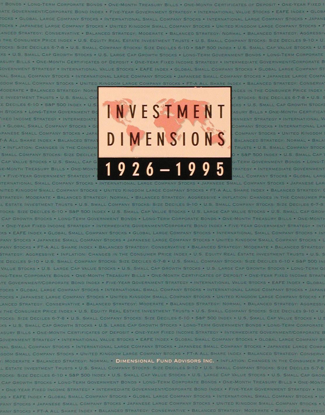 DFA Matrix Book 1995