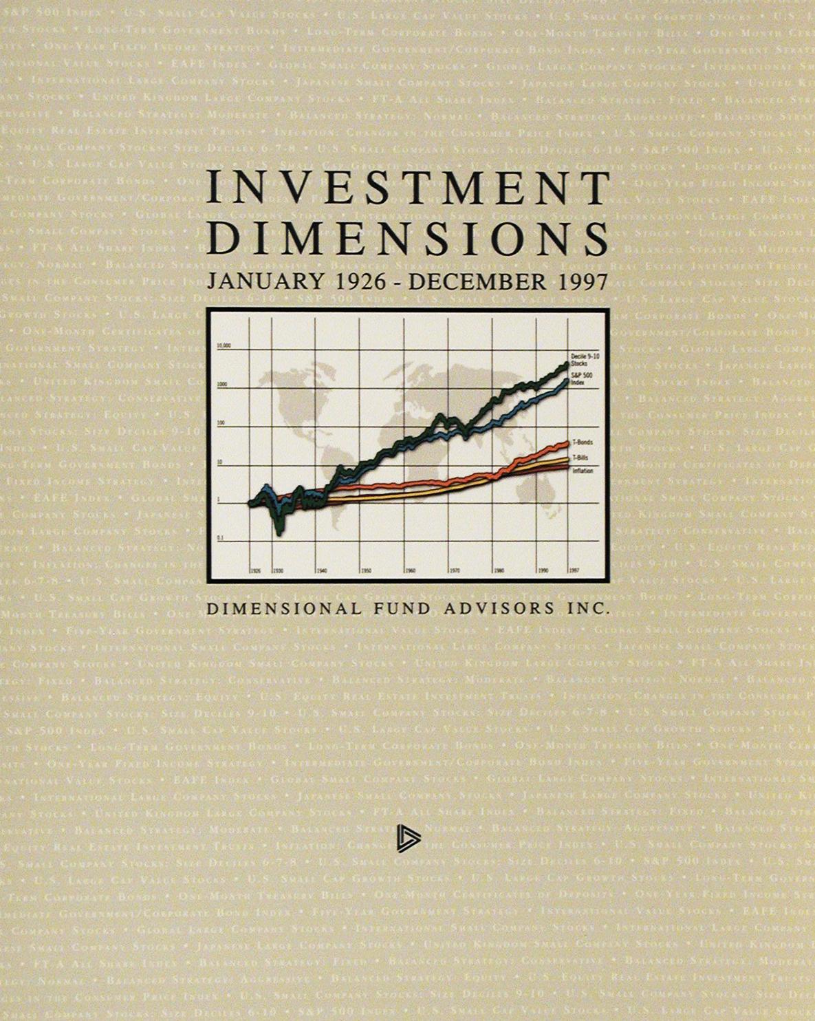 DFA Matrix Book 1997