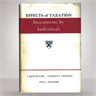 effects-of-taxation-investments-by-individuals